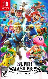 [Nintendo Switch] Super Smash Bros. Ultimate (цена зависит от города)