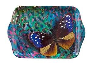 """Маленький подарочный поднос """"Волшебная бабочка"""", 21 х 14 см"""
