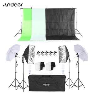 Домашняя фотостудия Andoer (комплект) за $69