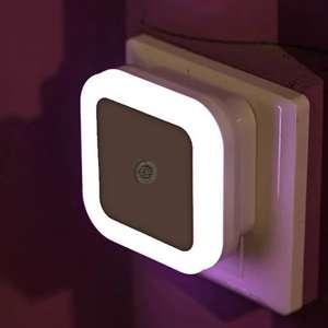 Светодиодный ночник с датчиком света за $0.6