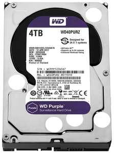 Внутренний жесткий диск Western Digital Purple 4TB (WD40PURZ) - на первый заказ!