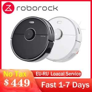 Моющий робот-пылесос Roborock S5 Max