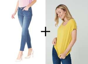 -20% доп. на всё при покупке 2-х вещей (например, женская футболка и джинсы)