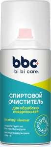 BiBiCare (Спирт) Дезинфицирующее средство для поверхностей Спиртовой очиститель, аэрозоль, 210 мл