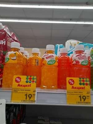 [Таганрог] Напиток с кусочками фруктов Fresh манго/личи клубника