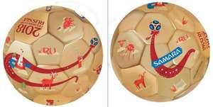 Мяч футбольный FIFA 2018 Samara + 2 города в описании