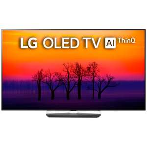 """[Не все города] Ultra HD 4K OLED телевизор 65"""" LG OLED65B8SLB"""