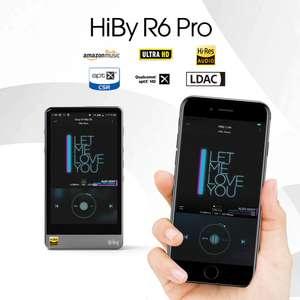 Hi-Fi плеер HiBy R6Pro из нержавеющей стали