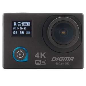 Видеокамера экшн Digma DiCam 700