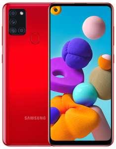 Смартфон Samsung Galaxy A21s 3/32Gb и 4/64Gb за 11990₽ (при покупке дополнительного товара)