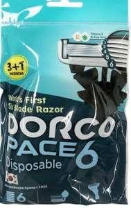 Станок Dorco Pace 6. 3+1