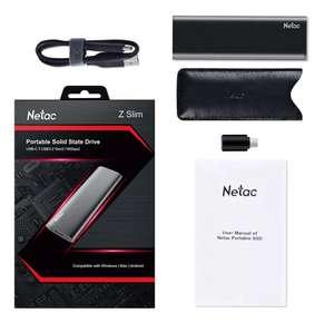 Внешний ssd накопитель Netac USB TYPE-C на 500 Гб