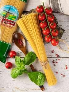 Спагетти Верони (высший сорт). 2 упаковки по 500 гр
