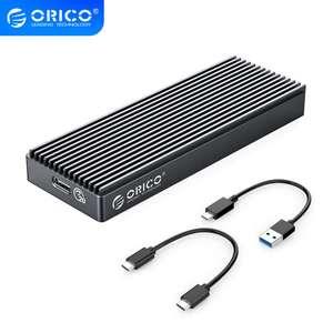 Алюминиевый M.2 NVME SSD корпус USB3.2 GEN2 x2 Type-C для M.2 жесткого диска, до 2 тб