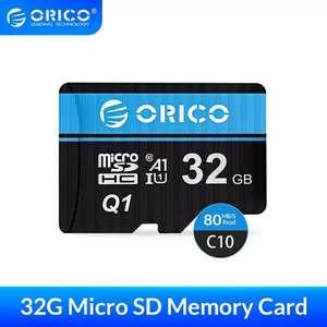 Карта памяти Orico 32Gb microSD