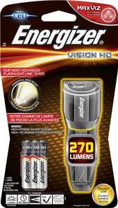 Фонарь светодиодный Energizer Metal Vision HD, 270 лм