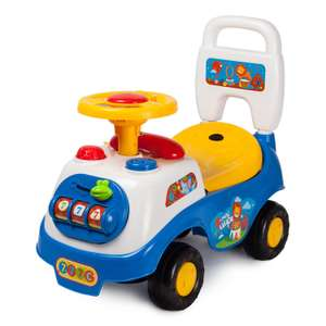 -30% доп. на электромобили и каталки (например, каталка Baby Go Первые шаги)