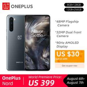 Смартфон OnePlus Nord 8/128