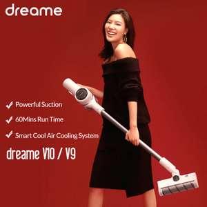 Вертикальный аккумуляторный пылесос Dreame v9/v10