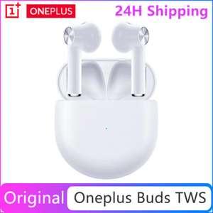 Беспроводные наушники OnePlus Buds (BT 5.0, Dolby Atmos, до 30 ч автономности)