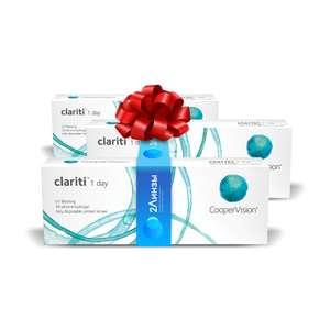 Однодневные контактные линзы Clariti 1 day 90