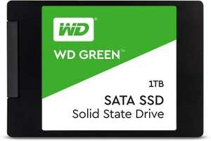"SSD накопитель WD Green WDS100T2G0A 1ТБ, 2.5"", SATA III"