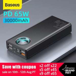 Повербанк Baseus 33W/65W 30000mAh