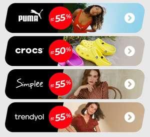 Скидка+промокоды на PUMA и другие бренды (например, Кроссовки PUMA 90s Runner SL)