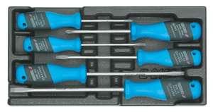 Набор отверток Gedore 6 предметов плоский шлиц/PH