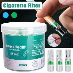 Одноразовый фильтр для сигарет, 100 шт.