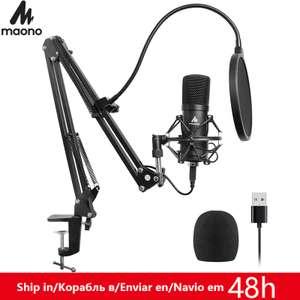 Комплект USB микрофон MAONO AU-A04