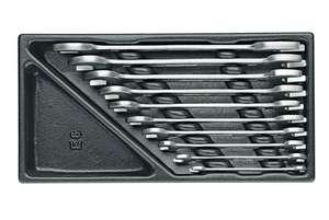 Набор рожковых ключей в ложементе 6-27 мм, 10 предметов GEDORE 1500 ES-6