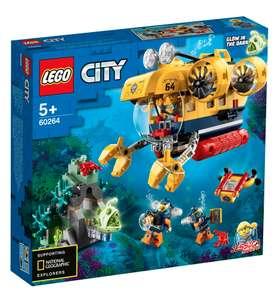 Распродажа LEGO на Tmall (напр. LEGO City Oceans 60264 Океан: исследовательская подводная лодка)