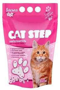 Впитывающий наполнитель Cat Step Sacura 3,8 л