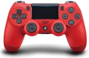 Геймпад Sony DualShock 4 красный