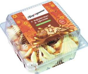 [Челябинск] БЗМЖ торт-мороженое с карамелью и орехом 400гр