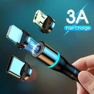 Магнитные кабели YKZ с поддержкой Quick Charge, 1 м