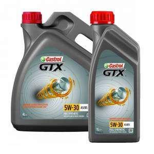 МОТОРНОЕ МАСЛО CASTROL GTX 5W-30 A5/B5, 4 Л. (+1 ЛИТР В ПОДАРОК)
