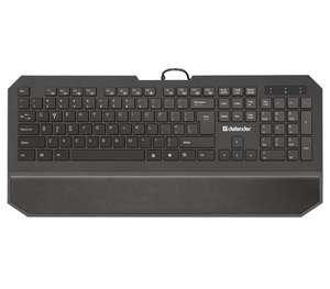 Клавиатура DEFENDER Oscar SM-600 Pro, проводная, USB