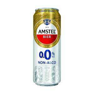 [Мск] Безалкогольное пиво Amstel, светлое паст., 0.43 л.