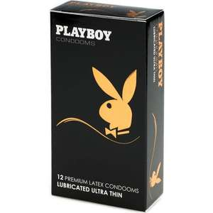 Playboy презервативы Ultra Thin №12 ультратонкие (Цена за 3 пачки)