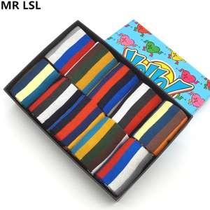 10 пар стильных полосатых носков за $14.76