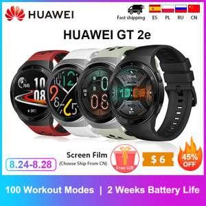 Умные часы Huawei Watch GT2e ($76)