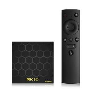 ТВ бокс RK10 Android 7.1 (2/16GB, 2.4G, голосовое управление) за $36.99