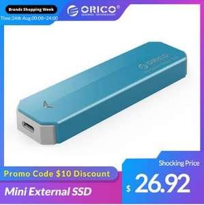 Внешний SSD Orico 128 Гб