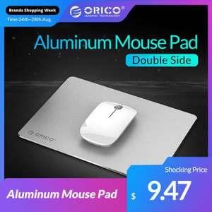 Алюминевый коврик для мышки