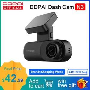 Видеорегистратор DDPAI Mola N3 ($30)