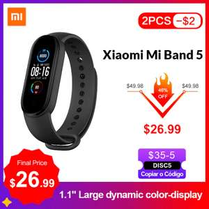 Xiaomi Mi Band 5 (CN без NFC) US $25.22