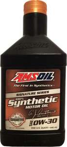 Моторное масло AMSOIL Signature Series Synthetic SAE 0W-30 , 946ml