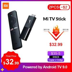 ТВ-приставкк Xaomi Mi TV Stick на базе Android TV 9.0